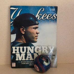 Yankees Magazine and Ball